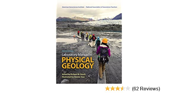Laboratory Manual In Physical Geology 10th Edition AGI