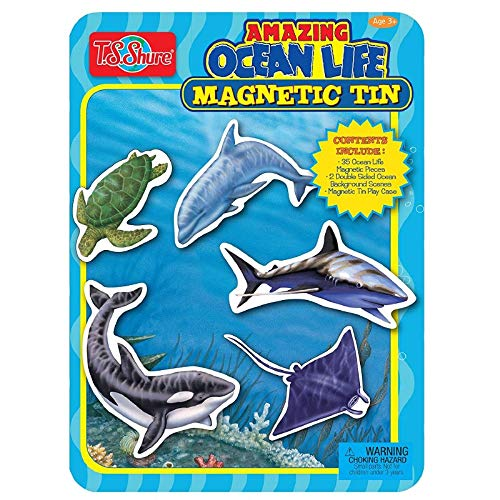 Playset Tin - T.S. Shure Ocean Life Magnetic Tin Playset