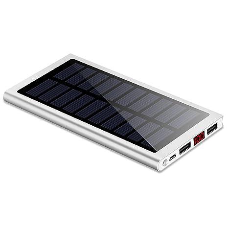 Hinmay Cargador Solar, Ultra-delgado, Cargador Solar ...
