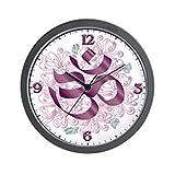 Wall Clock Hindu Om Omkara Aum Meditation Symbol