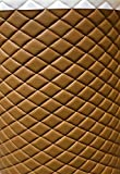 "LUVFABRICS Desert Faux Leather Quilted Vinyl Fabric with 3/8"" Foam Backing Upholstery"