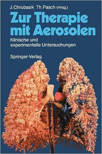 Book Zur Therapie mit Aerosolen: Klinische und experimentelle Untersuchungen (German Edition)