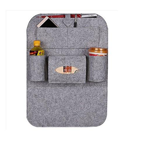 SweetyRose Car Seat Bag Organizer,Woolen Felt Seat Back Protectors for Kids,Storage Bottles,Tissue Box Accessories SweetyRose
