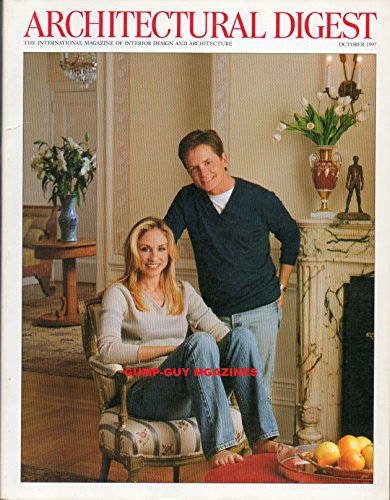 Architectural Digest 10/97 MICHAEL J FOX TRACY POLLAN (Furniture Virginia Contemporary)
