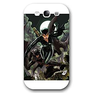 Onelee Catwoman Custom Phone Case for Samsung Galaxy S3, DC comics Catwoman Customized Samsung Galaxy S3 Case, Only Fit for Samsung Galaxy S3 (White Frosted Shell) by ruishername