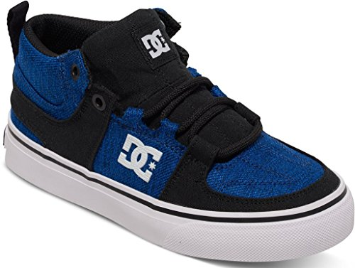 LYNX VULC MID B SHOE XKBW, size:5;producer_color:BLACK/BLUE/WHITE