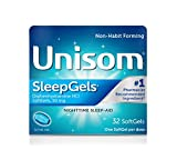 Unisom SleepGels, Softgels, 32-Count (Pack of 36)