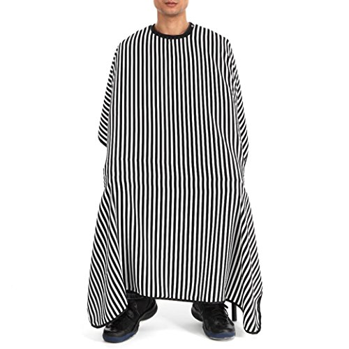 New Binmer(TM) Adult Cutting Hair Waterproof Cloth Salon Barber Gown Cape Hairdressing Hairdresser Apron Styling Tool (A)