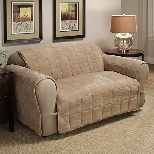 Innovative Textile Solutions Ultimate Furniture Protector Loveseat, Natural