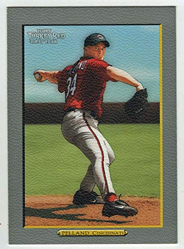 - Tyler Pelland RC (Baseball Card) 2005 Topps Turkey Red # 282 NM/MT