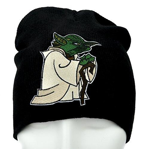 YDS Accessories Master Jedi Yoda Beanie Alternative Clothing Knit (Yoda Beanie)