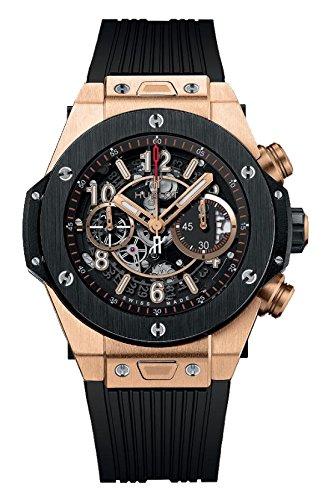 Hublot Big Bang Unico King Oro – Reloj cronógrafo automático para hombre de cerámica 411.