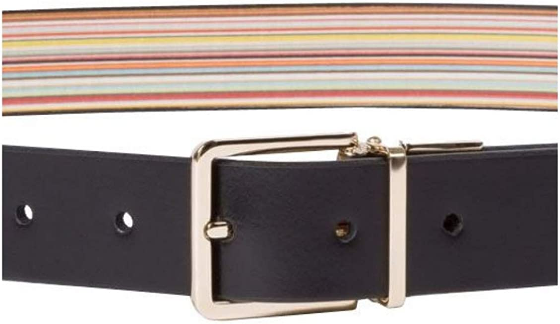 """BNIB UP TO 38/"""" PAUL SMITH REVERSIBLE BELT SET WITH TWO BUCKLES CUT TO FIT"""