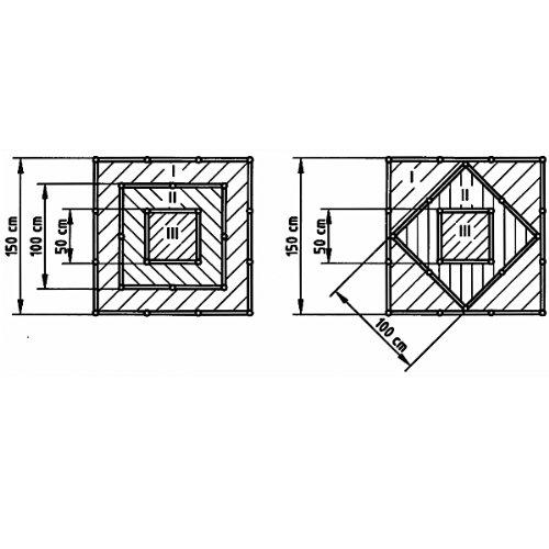 Beckmann Bcz Hochbeet Pyramide Farbe Braun Amazon De Garten