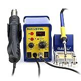 BAKU BK-878L 110V 2 in 1 LED Digital Soldering Station Hot Air Rework Station Mobile Phone Repair Tools (BK-878L)