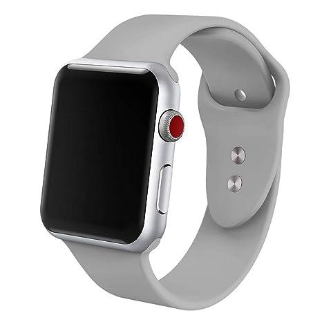 5ffdc32bed240 MollyLow Compatibilité pour Apple Watch Série 4 Bracelet 40mm 38mm ...