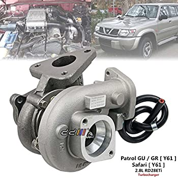 Turbo Turbocharger For Nissan Patrol GU Y61 97-00 2.8L RD28 GT1752S 14411-VB300