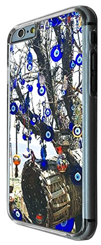 802 - Multi Evil Eye arabic Art Design iphone 6 6S 4.7'' Coque Fashion Trend Case Coque Protection Cover plastique et métal