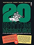img - for 20 Rhythm Backgrounds to Standards: Music Minus One Clarinet, Trumpet, Tenor Sax Deluxe 2-CD Set book / textbook / text book