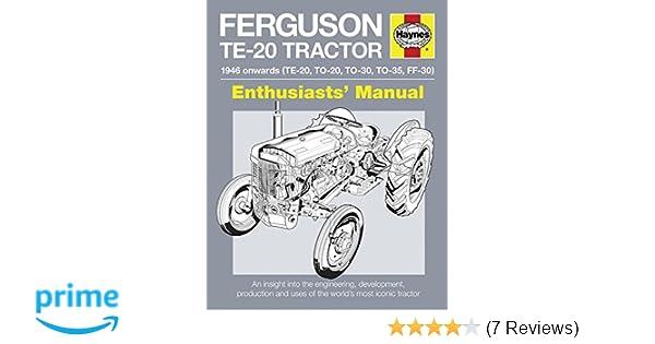 Ferguson TE-20 Tractor - 1946 onwards (TE-20, TO-20, TO-30, TO-35