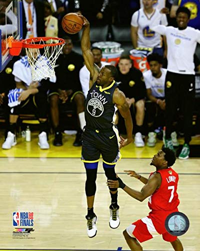 Andre Iguodala Golden State Warriors 2019 NBA Finals Action Photo (Size: 8