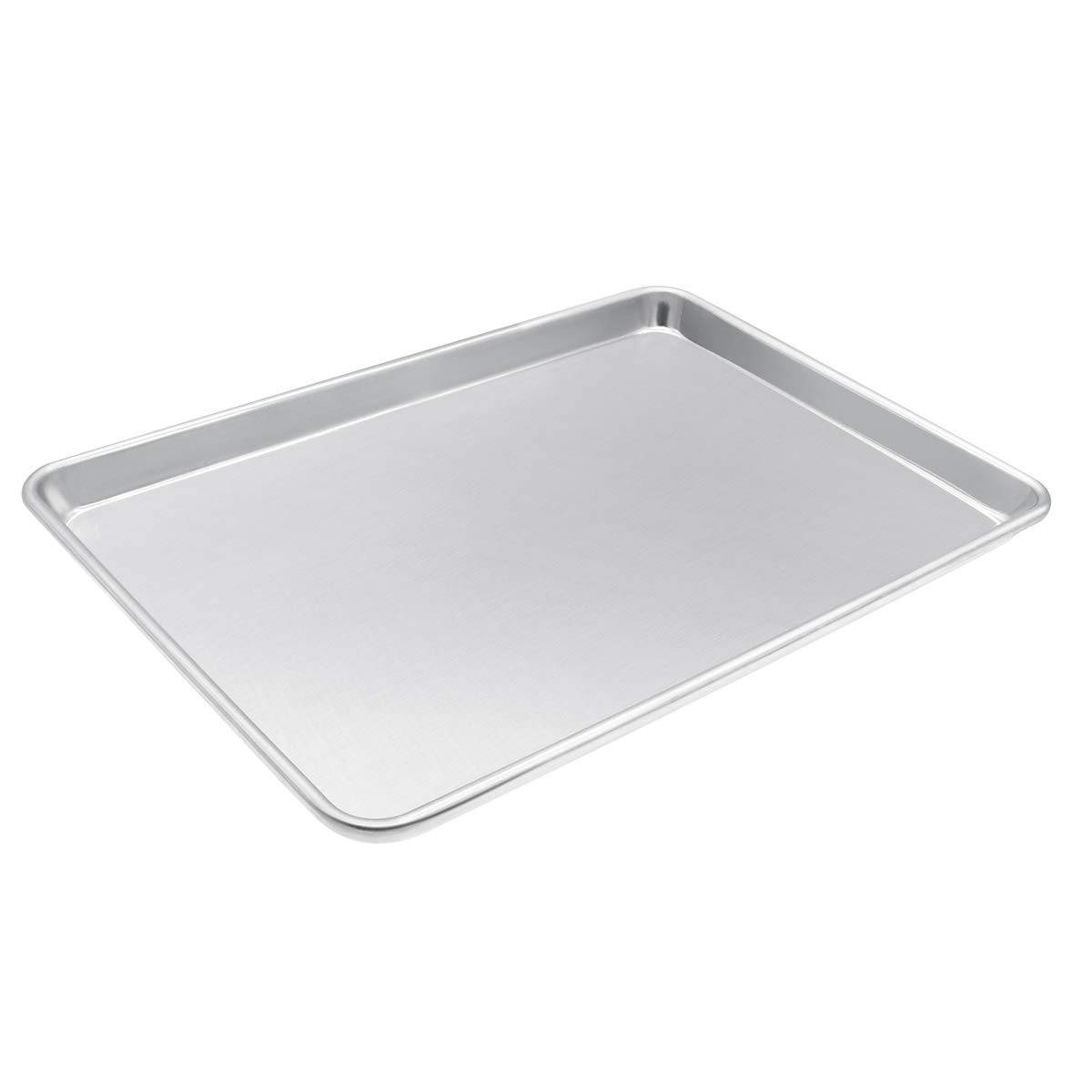 TOP KITCHEN 13'' x 18'' Half Size Aluminum Baking and Cookie Sheet Pan