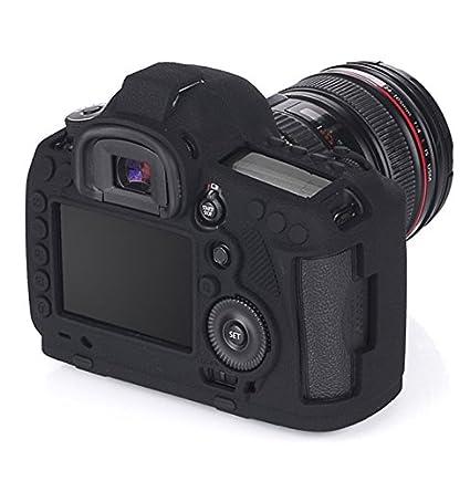 jinserta suave silicona funda para cámara funda para Canon EOS 5d ...