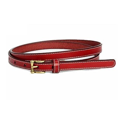 Styhatbag Cinturón de Mujer para Mujer Vestido de Cuero Fino de Las Mujeres  Cinturones de Cintura da569cd3119f