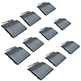 10-Piece Caliber Edge Hinged Snowmobile Trailer Ramp Glides