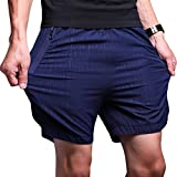 LTIFONE Mens Gym Quick Dry Shorts Workout Training
