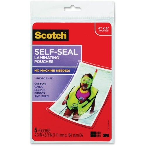 Scotch Self-sealing Laminating Pouch - 4