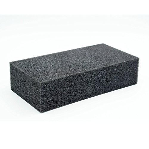 - Shanghaipop Needle Pin Dense Foam Pad Cushion Mat Holder Craft Felt Felting 18X12X6cm Black