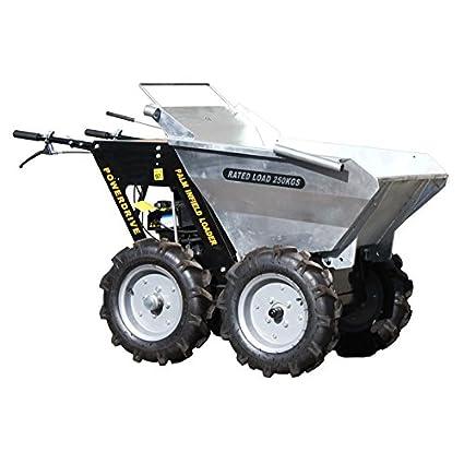 Mini Dumper – Carretilla con motor Briggs & Stratton – Carretilla motorizada – Cargador Compact