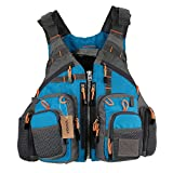 Lixada Mesh Fly Fishing Vest and Backpack Breathable Outdoor Fishing Safety...