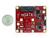 Aleratec Raspberry Pi Add USB to mSATA SSD Converter Board Adapter