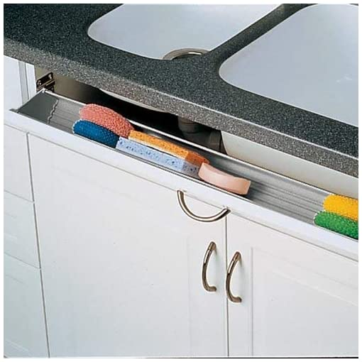 Kitchen 6551 Series Tip Out Tray 36 inch White tip-out trays