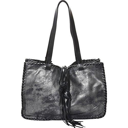 carla-mancini-signature-tote-black-silver