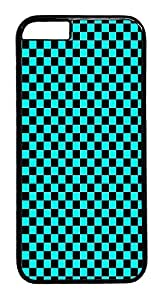IMARTCASE iPhone 6 Case, Aqua Tie Dye Seamless iPhone 6 Plus Case TPU White