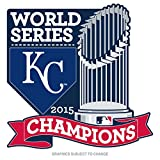 2015 MLB World Series Champions Kansas City Royals Collectors Pin With Trophy
