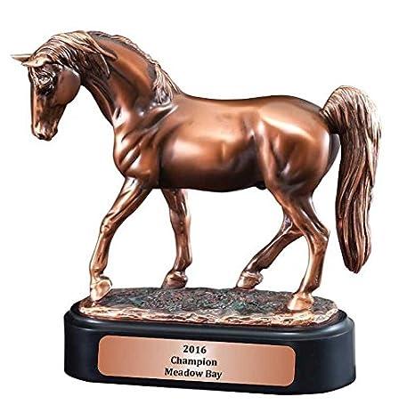 Premier Awards Sulky arnés Racing Estatua Caballo Trofeo, 9
