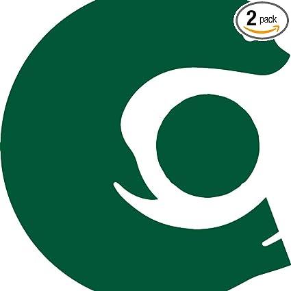 Amazon com: NBFU DECALS Logo CLION (Green) (Set of 2) Premium