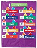 4 Pack LEARNING RESOURCES CLASSROOM CENTERS POCKET CHART