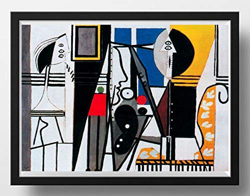 - Pablo Picasso Art Print Painter And Model Giclée Abstract Modern Wall Decor Contemporary Home Or Office Art 5
