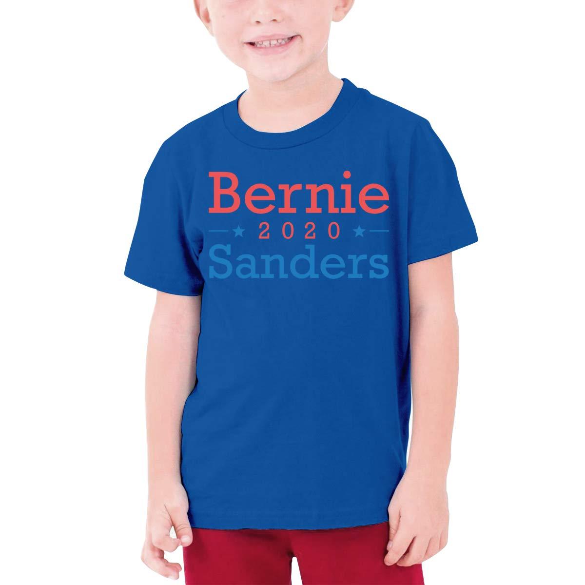 Fzjy Wnx Bernie Sanders 2020 Boys Short Sleeve T-Shirts