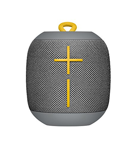 Ultimate Ears WONDERBOOM Super Portable Waterproof Bluetooth Speaker, Grey (984-000844)