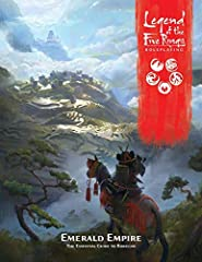 Learn of the intricacies of Rokugan with the Emerald Empire Source Book for Legend of the Five Rings Roleplaying! The Emerald Empire is vast and as varied as the seven Great Clans that control its lands in the name of the Hantei Emperor. Its ...