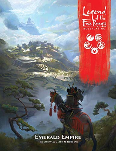 Fantasy Flight Games Emerald Empire: The Essential Guide to Rokugan (Legend Of The Five Rings Card List)