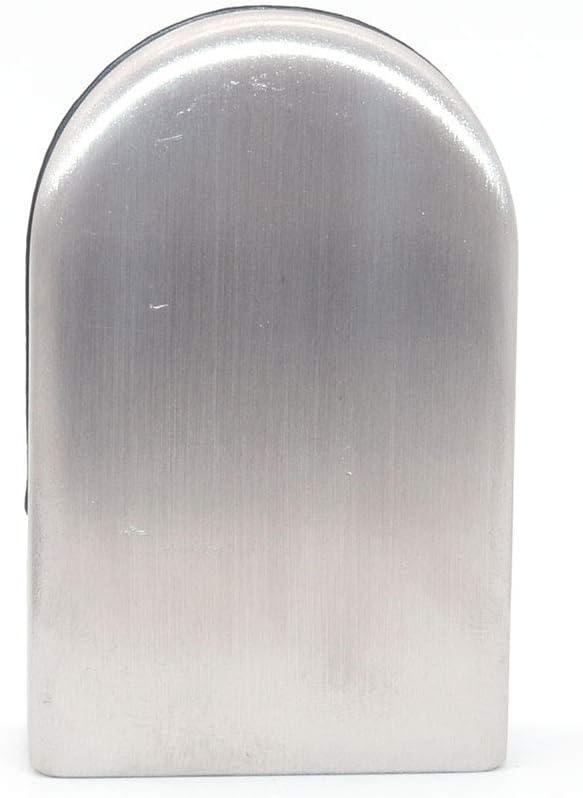 support en verre r/églable base incurv/ée concave Jeu de 4 pinces /à verre NUZAMAS adapt/ées aux panneaux de verre de 10 /à 12 mm acier inoxydable 304 pour tube et main courante