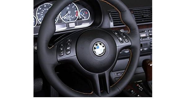 RedlineGoods BMW X5 E53 1999-06 cubierta del volante 3: Amazon.es: Coche y moto