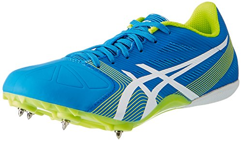 Asics Hyper Sprint 6, Chaussures de Running Mixte Adulte Bleu (Diva Blue/White/Aqua Splash)